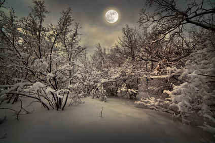 Frost at Midnight, moonlight